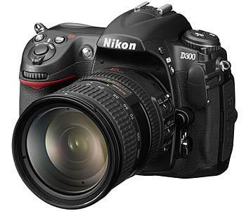 Цифровая зеркальная фотокамера NIKON D300