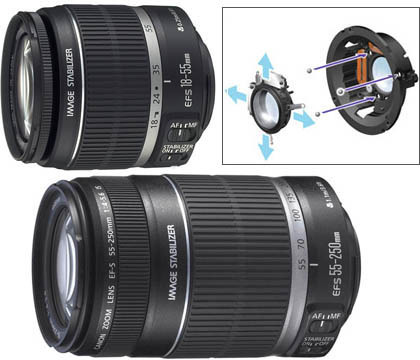 Canon EF 18-55 IS с