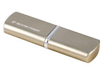 USB2 Flash  Silicon Power LUX mini 720 gold