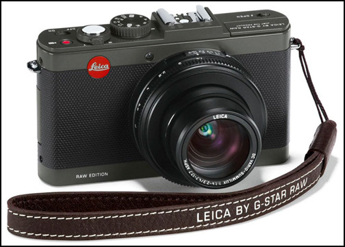Leica D-Lux 6 G-Star RAW front