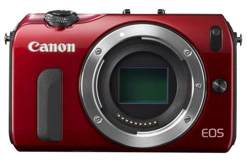 Canon EOS M body red