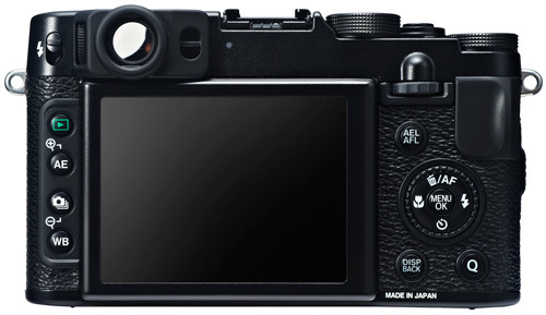Fujifilm Finepix X20 black back