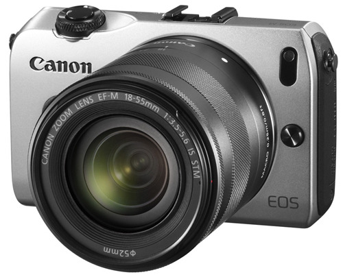 Canon EOS M 18-55 IS STM Kit silver