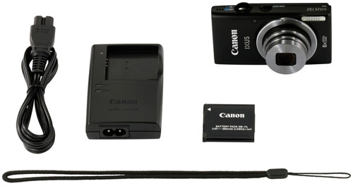 Canon IXUS 132 black kit