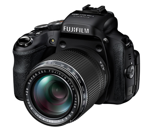 Fujifilm Finepix HS50EXR side