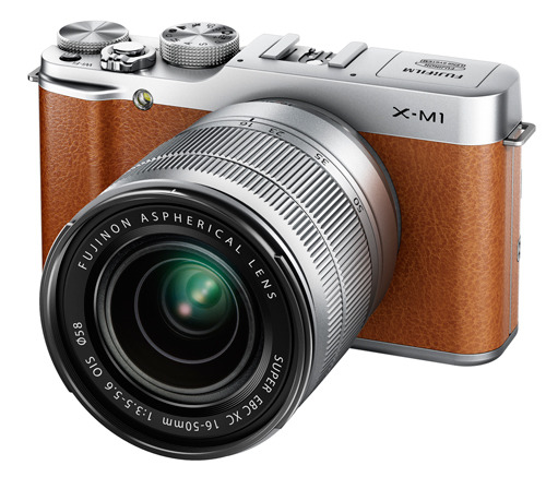 Fujifilm X-M1 kit brown