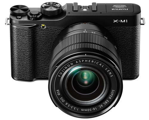 Fujifilm X-M1 kit black