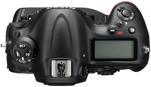 Nikon D4S вид сверху
