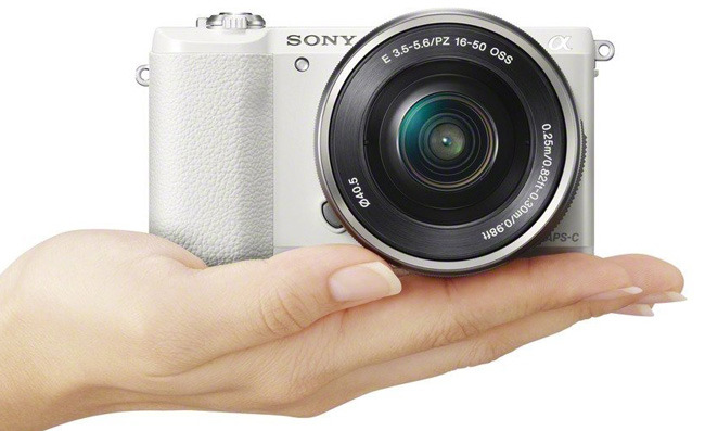Sony Alpha a5100 white