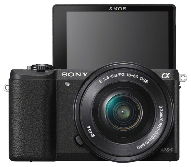 Sony Alpha a5100 black LCD
