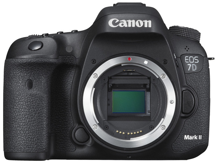 EOS 7D Mark II body front