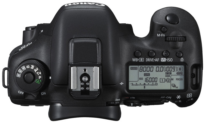 EOS 7D Mark II top