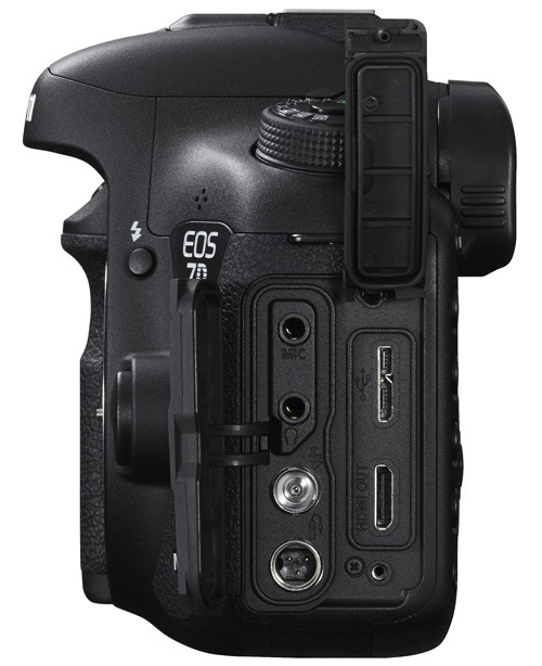 EOS 7D Mark II side view