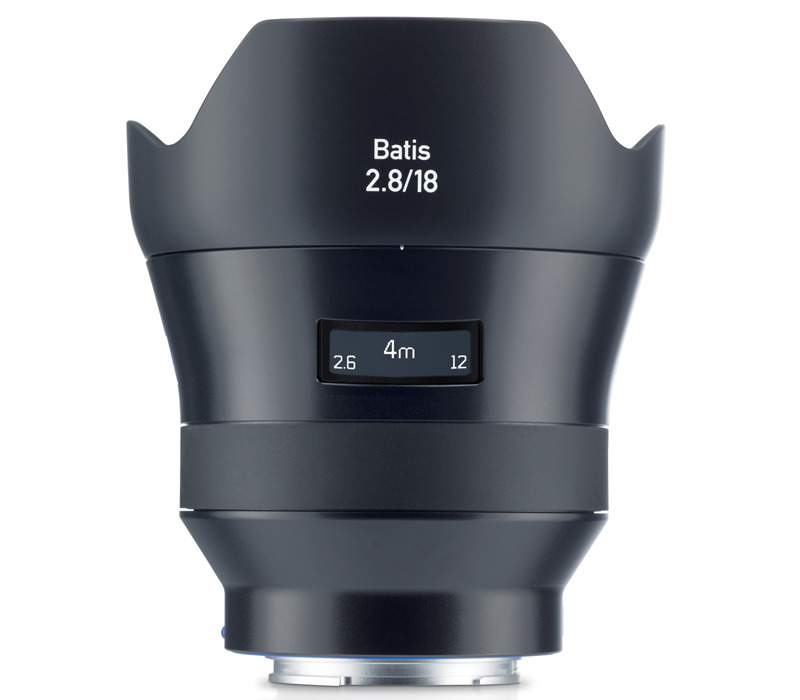 Zeiss Batis 18mm f/2.8 side