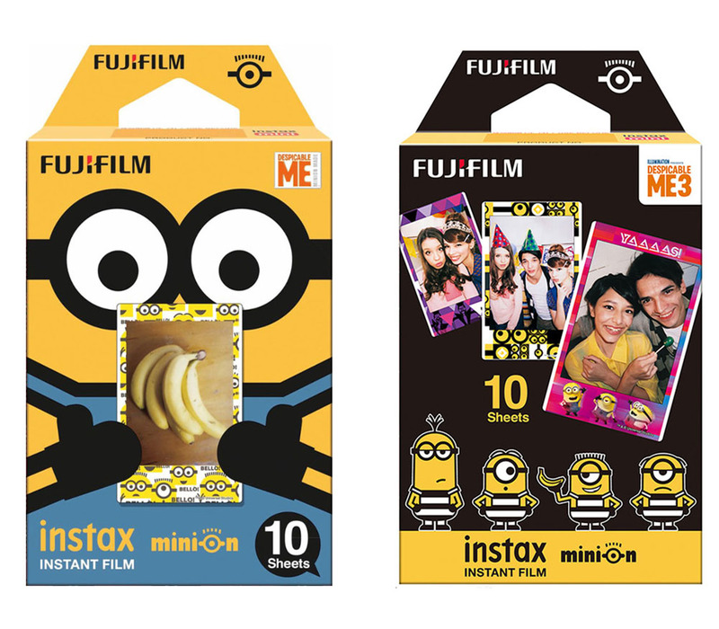 Fujifilm Instax Mini Minion film DMF, DM3