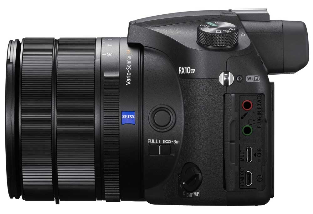 Sony DSC-RX10M4 interface ports
