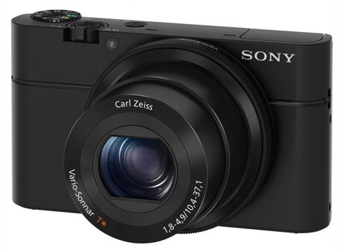 Sony DSC-RX100 side